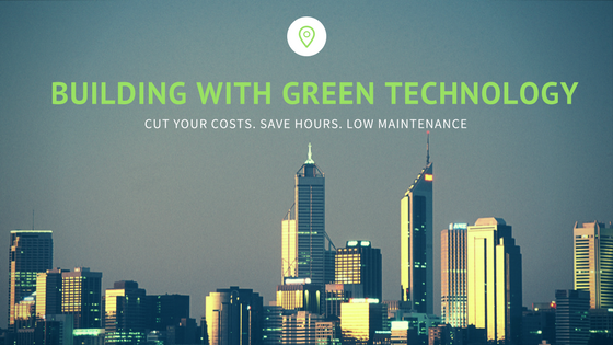 building with green technology